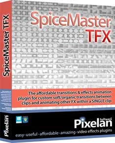 SpiceMaster 2.5 TFX video transitions plugin